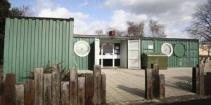 our container homes are super insulated and solar powered!